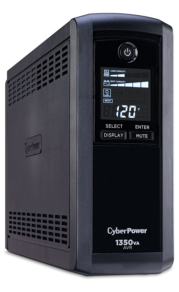 CyberPower 815W UPS Power Backup + Surge Protection