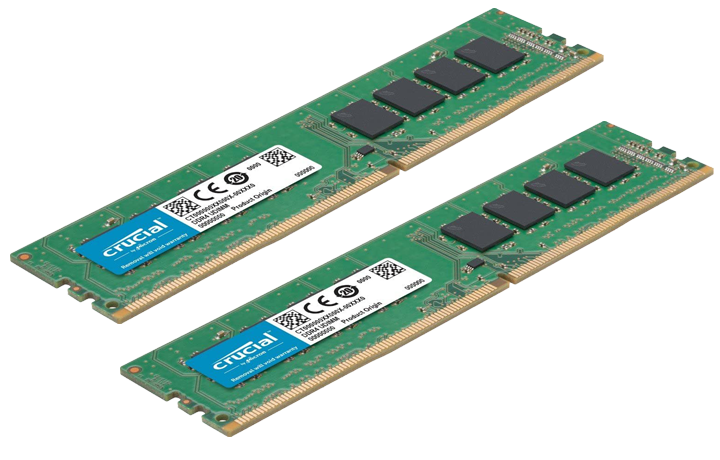 32GB DDR4-2666 RAM (two 16gb sticks)