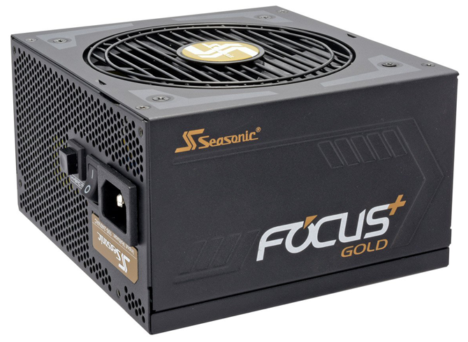 650 Watt SeaSonic 80+ GOLD Certified - Hybrid Silent Fan Control - Fully Modular