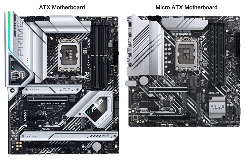 Comparing ATX and Micro ATX Motherboards