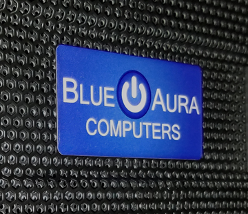 Blue Aura Computers Logo