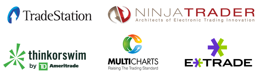 TradeStation, Ninja Trader, thinkorswim, MultiCharts, eTrade